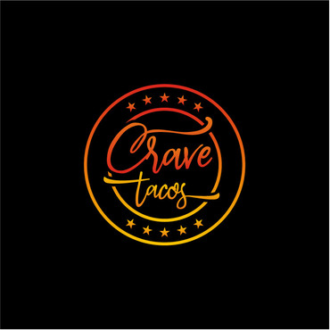 Crave Tacos A Logo, Monogram, or Icon  Draft # 17 by sigen
