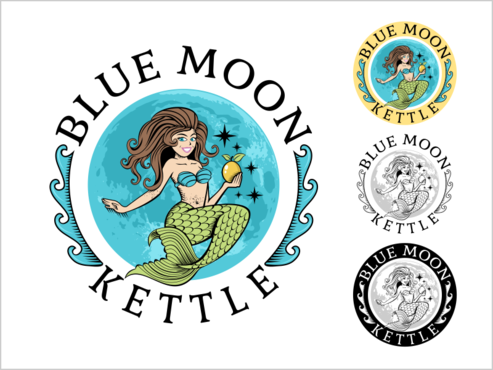 Blue Moon Kettle A Logo, Monogram, or Icon  Draft # 73 by thebullet