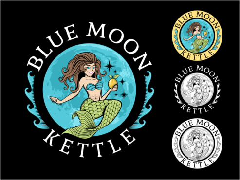 Blue Moon Kettle A Logo, Monogram, or Icon  Draft # 74 by thebullet