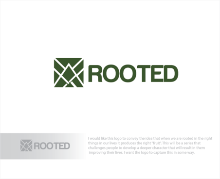 Rooted A Logo, Monogram, or Icon  Draft # 28 by logoGamerz