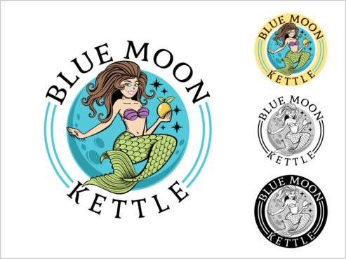 Blue Moon Kettle A Logo, Monogram, or Icon  Draft # 77 by thebullet