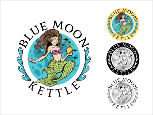 Blue Moon Kettle A Logo, Monogram, or Icon  Draft # 79 by thebullet