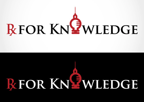 Rx For Knowledge A Logo, Monogram, or Icon  Draft # 81 by khalifa