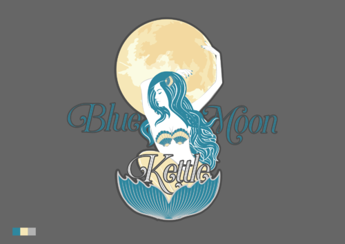 Blue Moon Kettle A Logo, Monogram, or Icon  Draft # 85 by adjeii