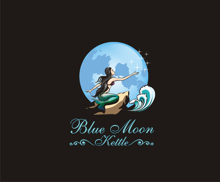 Blue Moon Kettle A Logo, Monogram, or Icon  Draft # 88 by otakatik