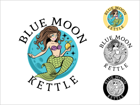 Blue Moon Kettle A Logo, Monogram, or Icon  Draft # 91 by thebullet