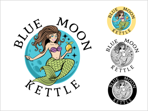 Blue Moon Kettle A Logo, Monogram, or Icon  Draft # 104 by thebullet