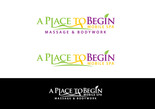A Place To Begin      Mobile Spa A Logo, Monogram, or Icon  Draft # 102 by zephyr