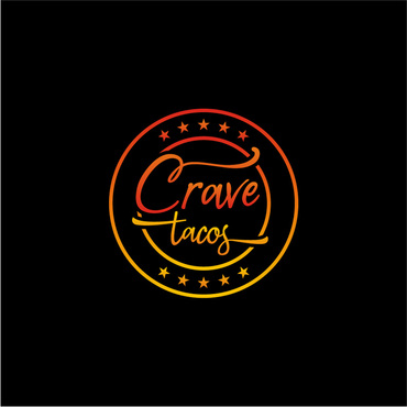 Crave Tacos Logo Winning Design by sigen