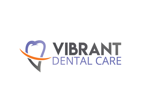 "Not really sure, just the name ""Vibrant Dental Care"" would be appropriate I think.  A Logo, Monogram, or Icon  Draft # 40 by deba1980"