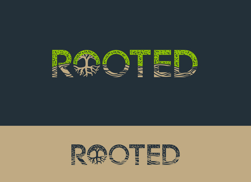 Rooted Logo Winning Design by Adwebicon