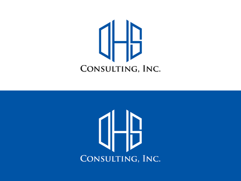 DHS Consulting, Inc. A Logo, Monogram, or Icon  Draft # 234 by Forceman786