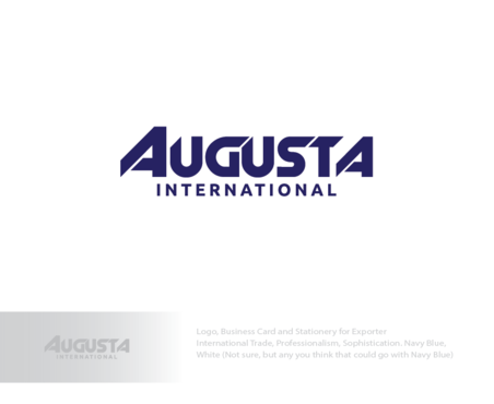 Augusta International A Logo, Monogram, or Icon  Draft # 1 by logoGamerz