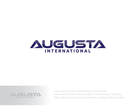 Augusta International A Logo, Monogram, or Icon  Draft # 2 by logoGamerz
