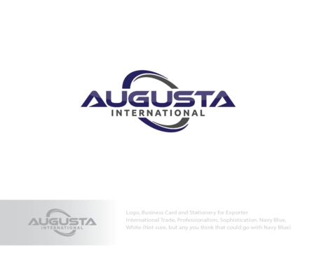 Augusta International A Logo, Monogram, or Icon  Draft # 3 by logoGamerz