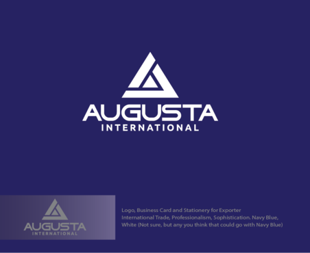 Augusta International A Logo, Monogram, or Icon  Draft # 5 by logoGamerz