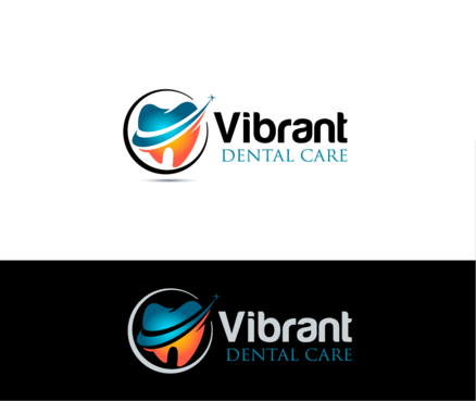 "Not really sure, just the name ""Vibrant Dental Care"" would be appropriate I think.  A Logo, Monogram, or Icon  Draft # 53 by Stardesigns"