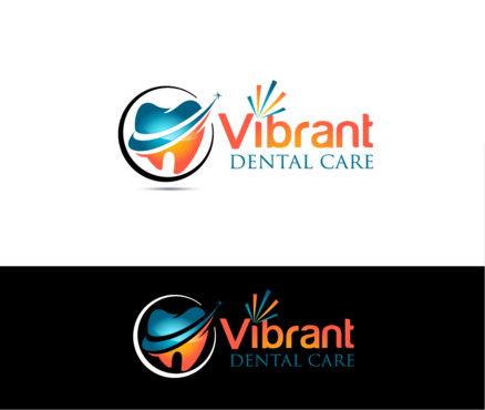 "Not really sure, just the name ""Vibrant Dental Care"" would be appropriate I think.  A Logo, Monogram, or Icon  Draft # 55 by Stardesigns"