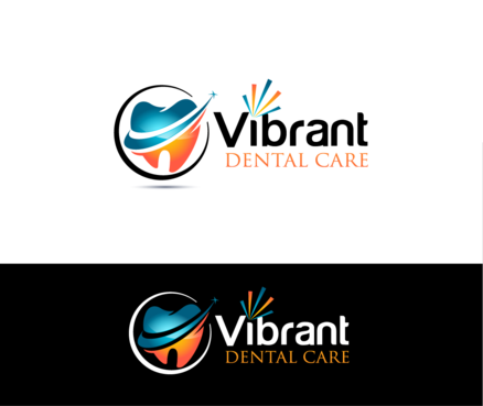 "Not really sure, just the name ""Vibrant Dental Care"" would be appropriate I think.  A Logo, Monogram, or Icon  Draft # 56 by Stardesigns"