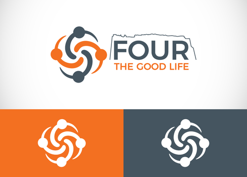 Four the Good Life A Logo, Monogram, or Icon  Draft # 34 by sallu