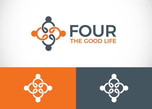 Four the Good Life A Logo, Monogram, or Icon  Draft # 35 by sallu