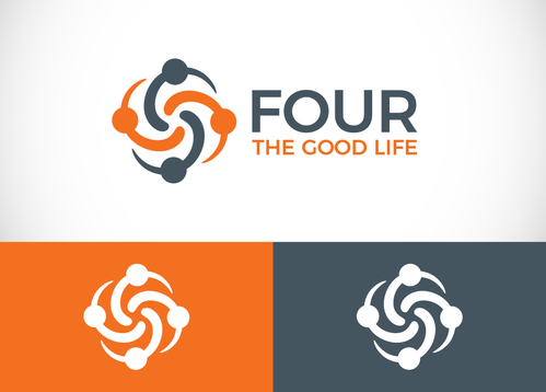Four the Good Life A Logo, Monogram, or Icon  Draft # 36 by sallu