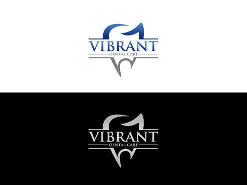"Not really sure, just the name ""Vibrant Dental Care"" would be appropriate I think.  A Logo, Monogram, or Icon  Draft # 75 by Lokeydesign"