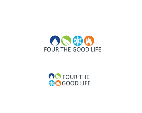 Four the Good Life A Logo, Monogram, or Icon  Draft # 52 by neonlite