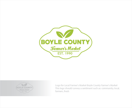 Boyle County Farmer's Market A Logo, Monogram, or Icon  Draft # 54 by logoGamerz