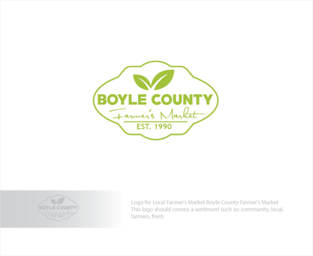 Boyle County Farmer's Market A Logo, Monogram, or Icon  Draft # 56 by logoGamerz