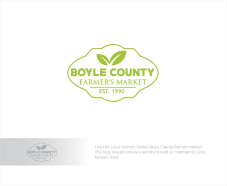 Boyle County Farmer's Market A Logo, Monogram, or Icon  Draft # 57 by logoGamerz