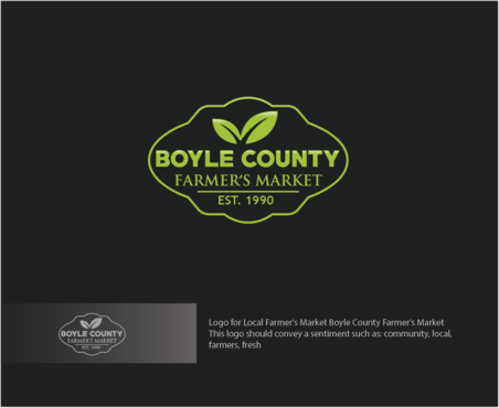Boyle County Farmer's Market A Logo, Monogram, or Icon  Draft # 58 by logoGamerz