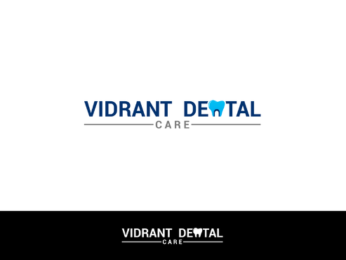 "Not really sure, just the name ""Vibrant Dental Care"" would be appropriate I think.  A Logo, Monogram, or Icon  Draft # 104 by Lokeydesign"