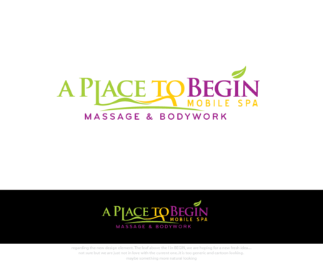 A Place To Begin      Mobile Spa A Logo, Monogram, or Icon  Draft # 274 by logoGamerz