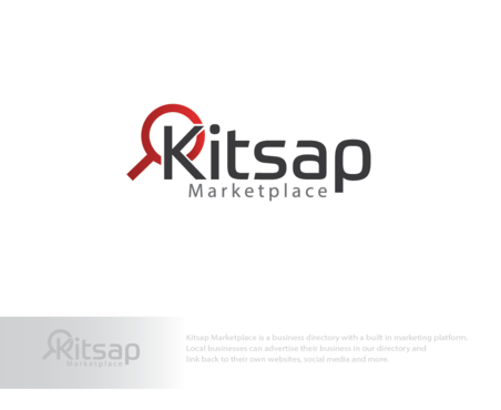 Kitsap Marketplace A Logo, Monogram, or Icon  Draft # 172 by logoGamerz