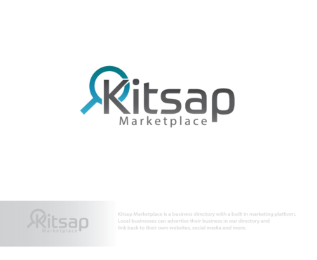 Kitsap Marketplace A Logo, Monogram, or Icon  Draft # 173 by logoGamerz