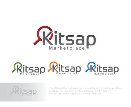 Kitsap Marketplace A Logo, Monogram, or Icon  Draft # 174 by logoGamerz