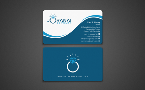 Joranai Jewelry Business Cards and Stationery Winning Design by einsanimation
