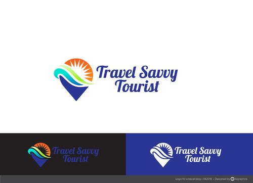 Travel Savvy Tourist A Logo, Monogram, or Icon  Draft # 74 by ALgraphics