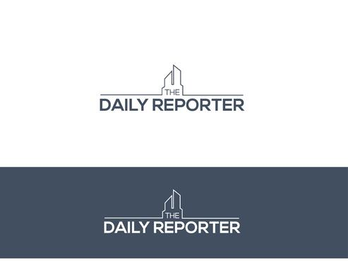 The Daily Reporter A Logo, Monogram, or Icon  Draft # 4 by Designeye