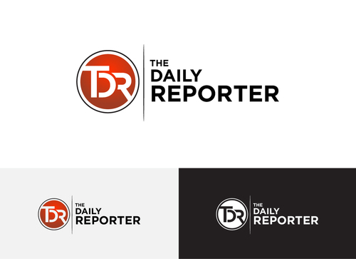 The Daily Reporter Logo Winning Design by Adwebicon