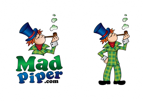 Mad Piper A Logo, Monogram, or Icon  Draft # 103 by adamuk