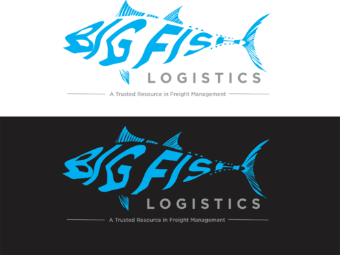 Big Fish Logistics A Logo, Monogram, or Icon  Draft # 79 by IlhamPatapangDesign