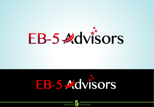 EB-5 Advisors A Logo, Monogram, or Icon  Draft # 173 by honeybadger