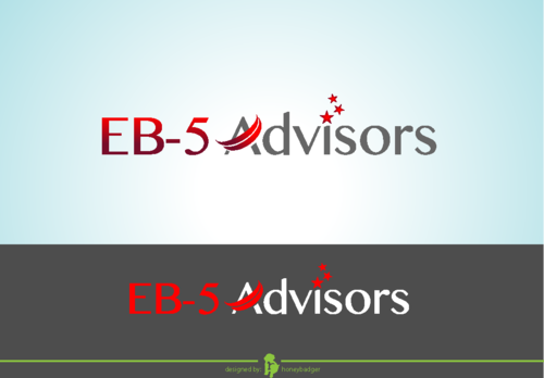 EB-5 Advisors A Logo, Monogram, or Icon  Draft # 174 by honeybadger