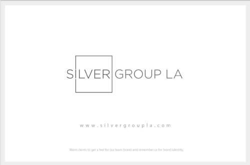 Silver Group LA A Logo, Monogram, or Icon  Draft # 189 by B4BEST