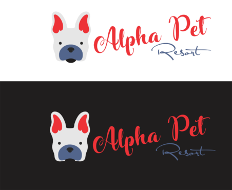 Alpha Pet Resort A Logo, Monogram, or Icon  Draft # 1 by IlhamPatapangDesign