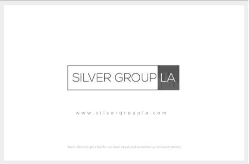 Silver Group LA A Logo, Monogram, or Icon  Draft # 208 by B4BEST