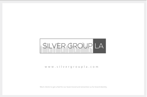 Silver Group LA A Logo, Monogram, or Icon  Draft # 209 by B4BEST
