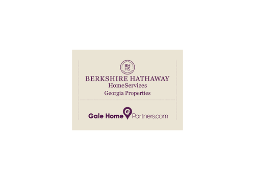 Berkshire Hathaway Home Services Logo + Gale Home Partners.com A Logo, Monogram, or Icon  Draft # 60 by husaeri